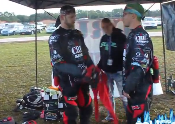 CRU Army - Division 4 (5-Man) Paintball Team - PSP World Cup 2011