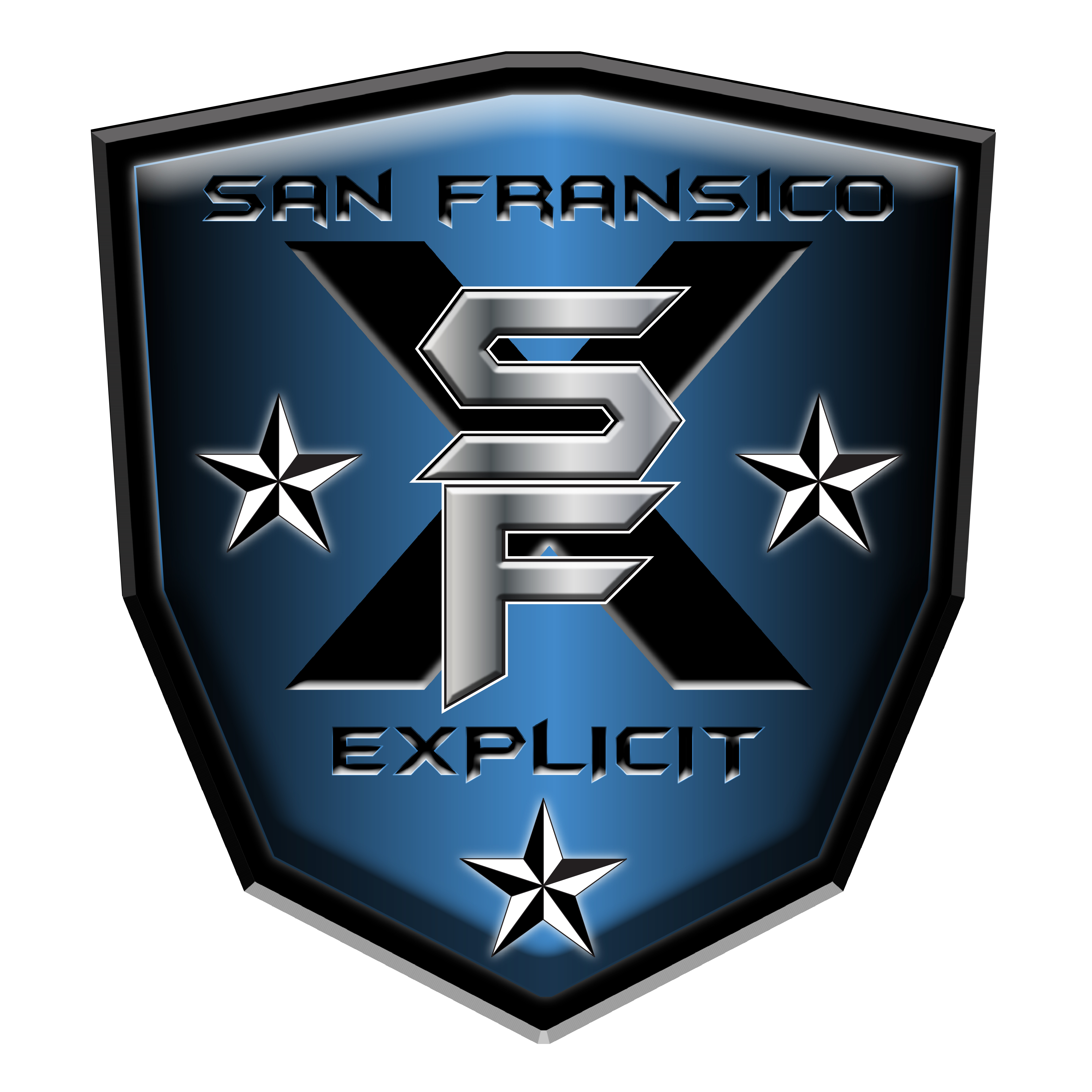 explicit blue logo