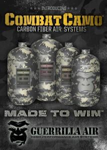 COMBAT CAMO Carbon Fiber System