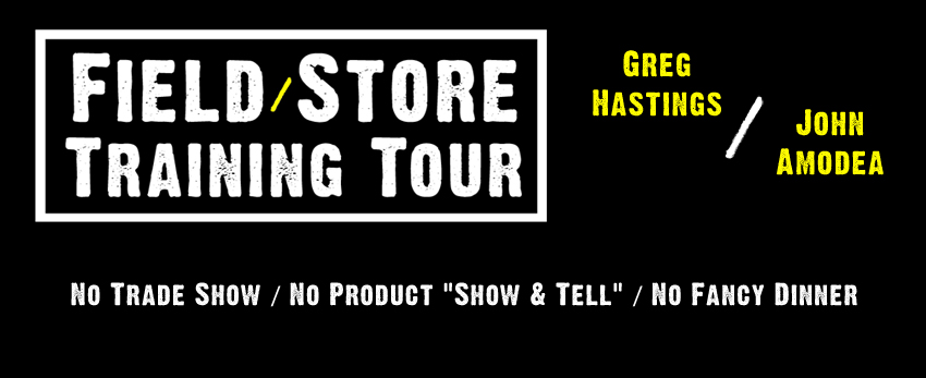 Greg Hastings/John Amodea Field/Store Hardcore Training Tour Dates &amp; Locations Set
