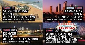 2013 NPPL schedule of events