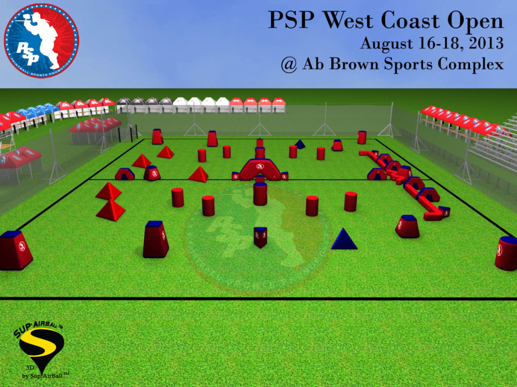 2013 PSP Riverside Field Layout