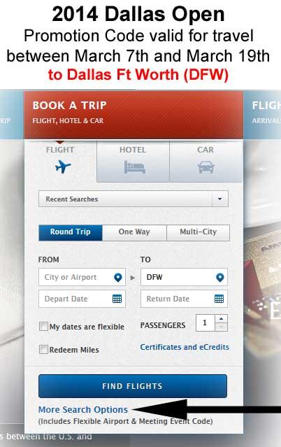 Flight-discount-promo-code-Delta-DALLAS