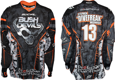 bush devils custom paintball jersey gallery