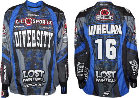diversity custom paintball jersey gallery