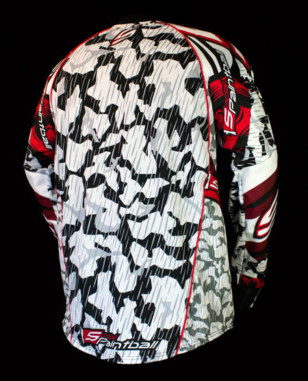 Grit Custom Paintball Jersey Flex Back Mesh