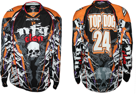 nfg custom paintball jersey gallery