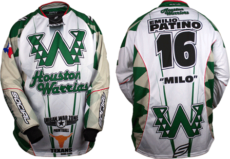 warriors custom paintball jersey gallery