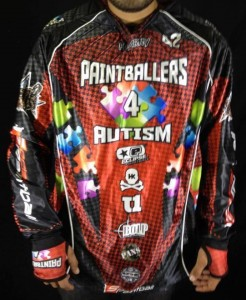 paintballers 4 autism jersey