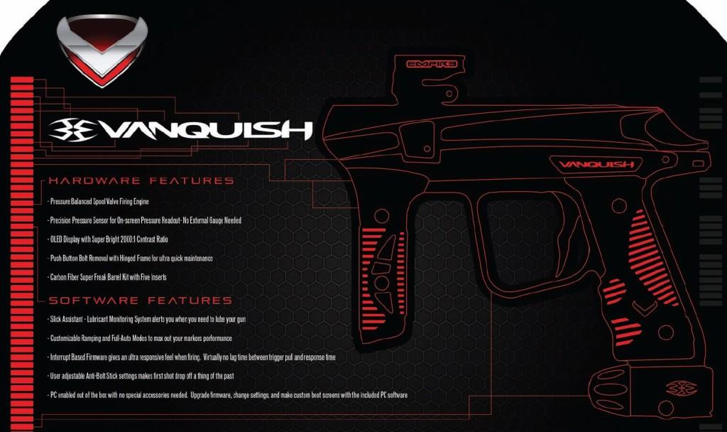 empire vanquish features