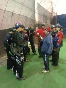 Russian Legion Paintball Training