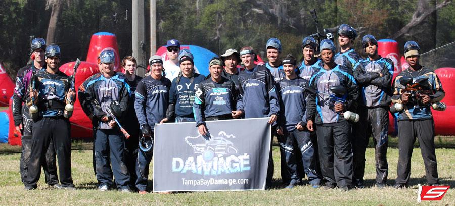 Tampa Bay Rays and Tampa Bay Damage
