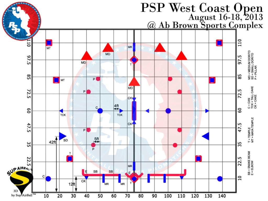 2013 PSP Riverside Field Layout