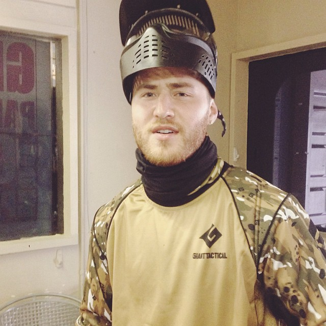 mike posner paintball