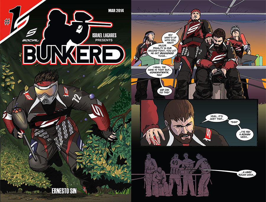 bunkered paintball page cover